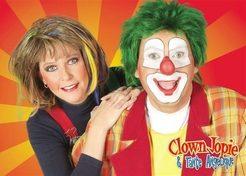 Kindershow Clown Jopie en Tante Angelique 1