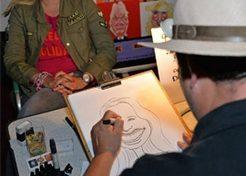 Karikaturen & Portretten Karikaturist Drew TopActs 1