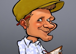 Karikaturist Thijs - TopActs.nl - 246-176