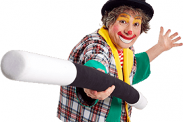 Kindershow Clown Boebie 1