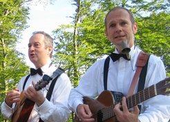 Muzikaal Duo Paratata (zwart-wit) TopActs 1