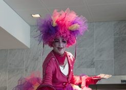 Steltenact Ballerina Clown TopActs 1