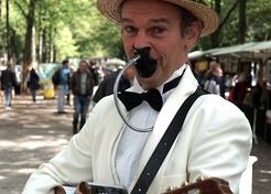 Wit Chique Troubadour - TopActs.nl - 246-176